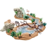 Schleich Wild Life Big adventure at the waterhole