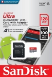 SanDisk 128GB Ultra 667x 100MB/s Class 10 UHS-I A1 Micro SD SDXC
