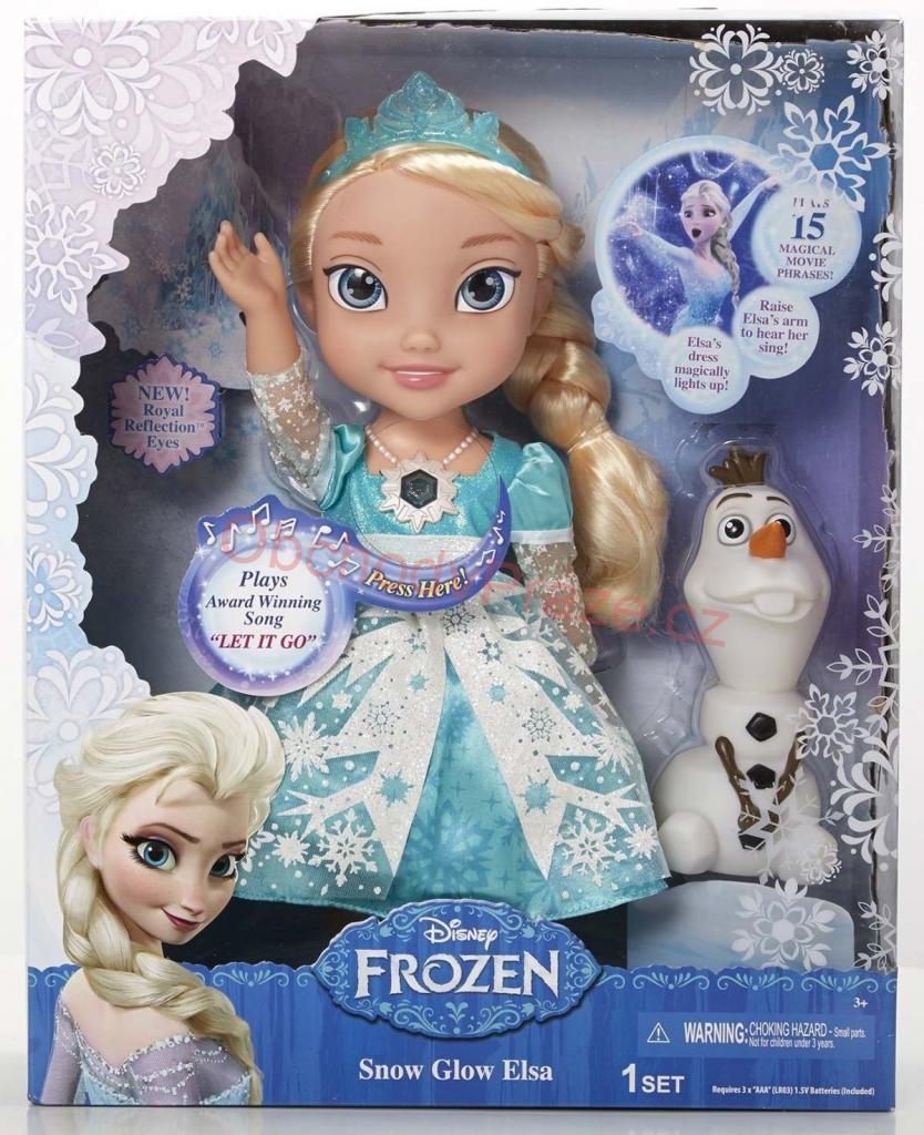 Disney Frozen Elsa a Olaf zpívá