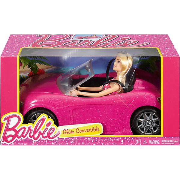 Mattel Barbie v kabrioletu