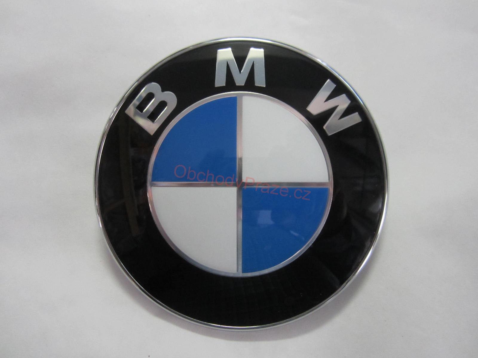BMW emblem logo znak na kapotu 1 2 3 4 5 6 7 E30 E34 E36 E38 E39 E63 E65 E53 E70