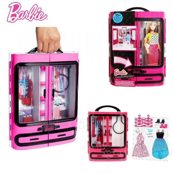 MATTEL Barbie přenosný šatník krásy