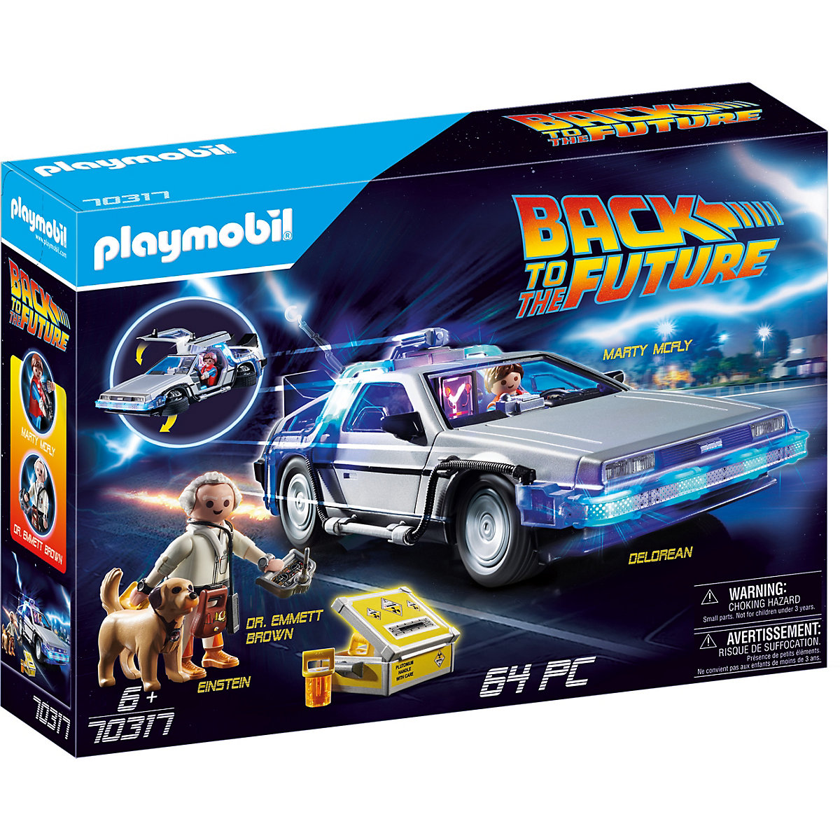 PLAYMOBIL 70317 DeLorean
