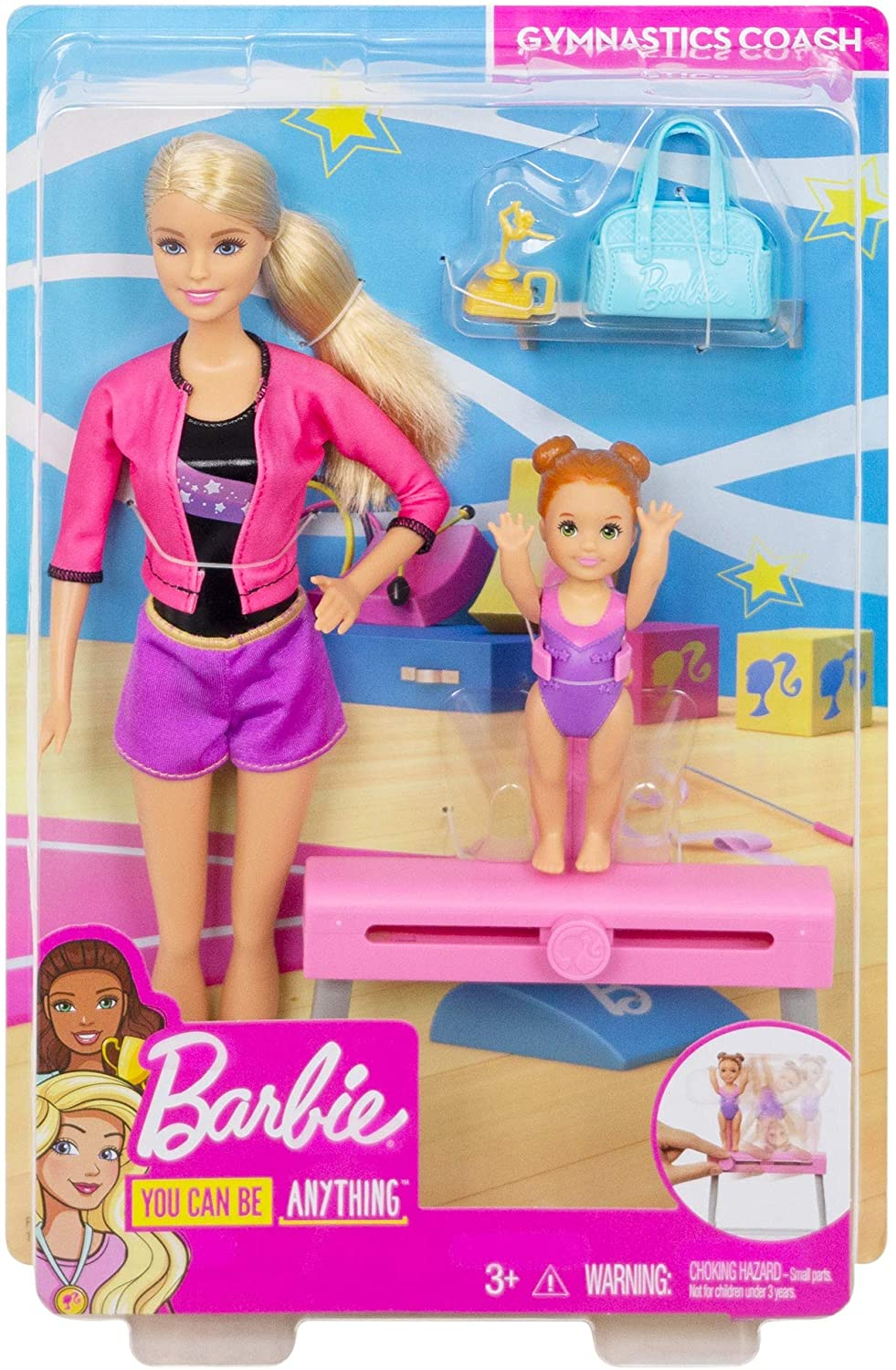 Barbie GYMNASTKA HERNÍ SET