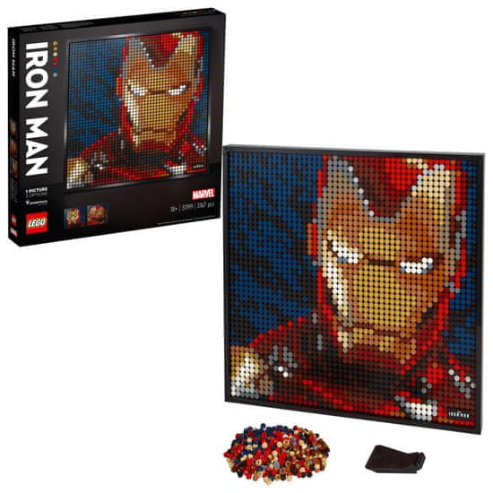 LEGO Art 31199 Iron Man