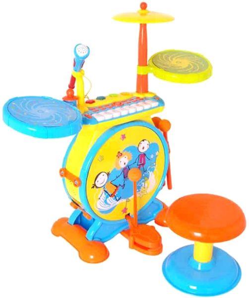 Huile Toys veselé bubny bubínky pro nejmenší jazz drum