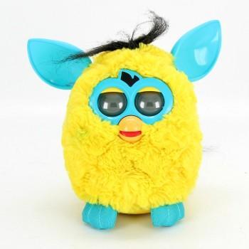 Hasbro Furby Cool žlutý s tyrkysovými oušky