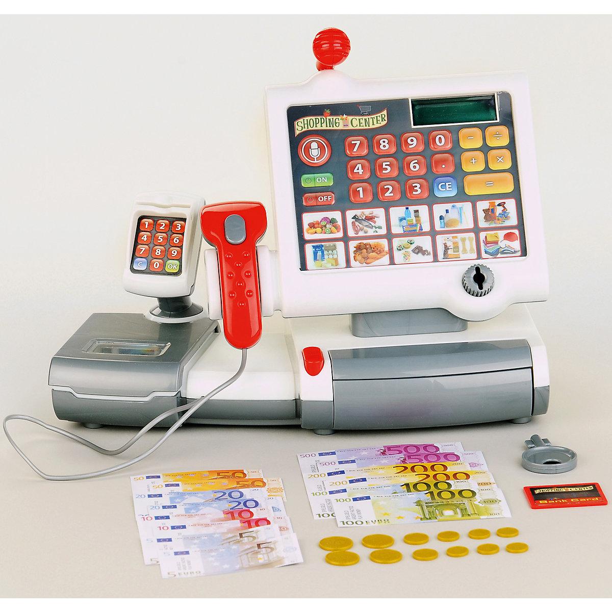 Dětská elektonická pokladna kasa scanner Klein