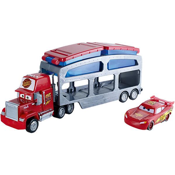 MATTEL Disney Pixar Cars Mack Barvuměníci Transporter