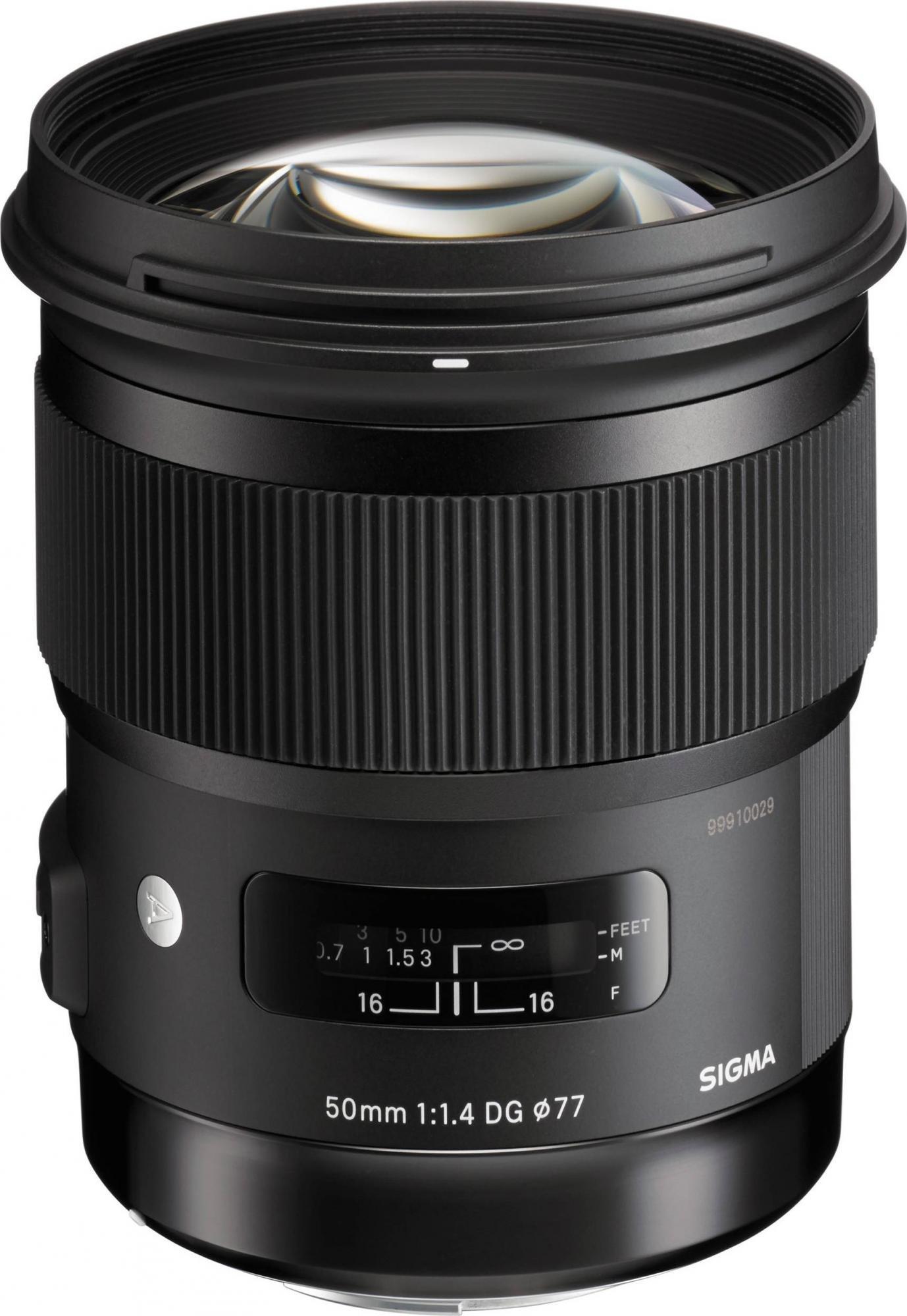 Sigma 50mm f/1,4 DG HSM Art Canon