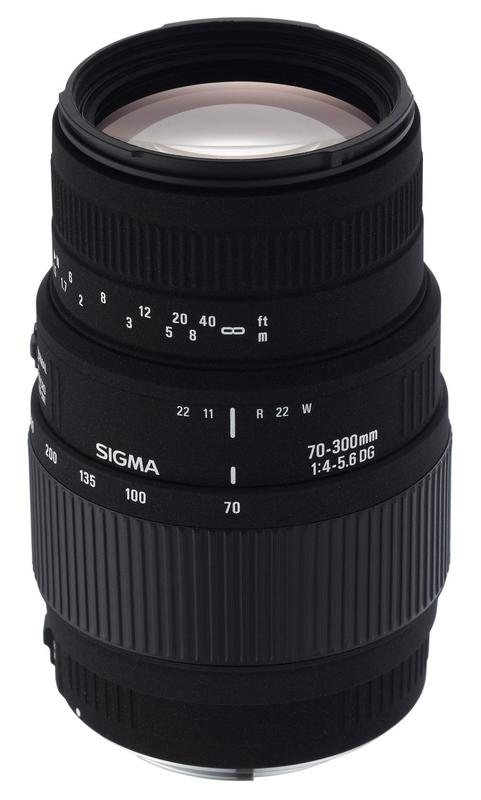Sigma 70-300mm f/4-5.6 DG MACRO (Canon)