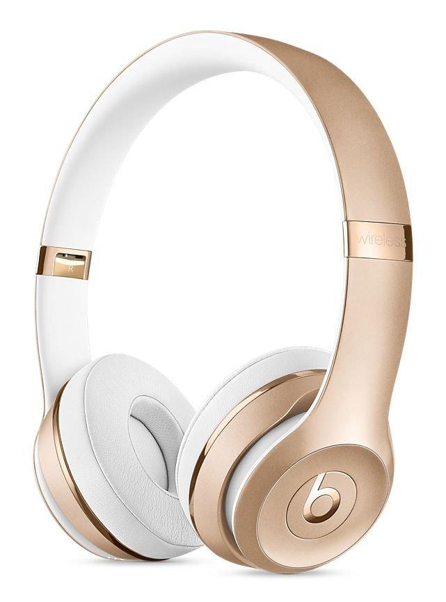 Sluchátka Beats Solo3 Wireless On-Ear - zlatá