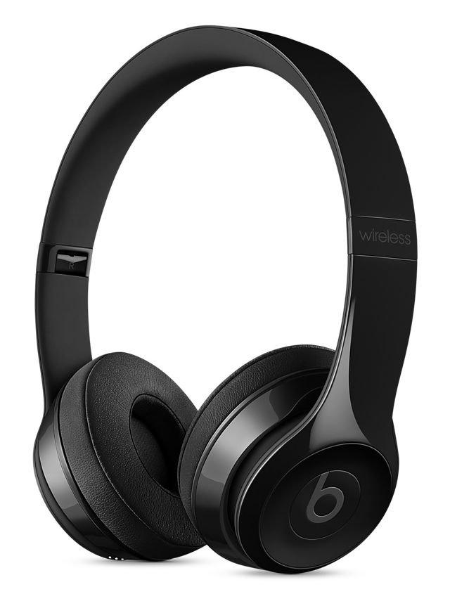 Sluchátka Beats Solo3 Wireless On-Ear leskle černé