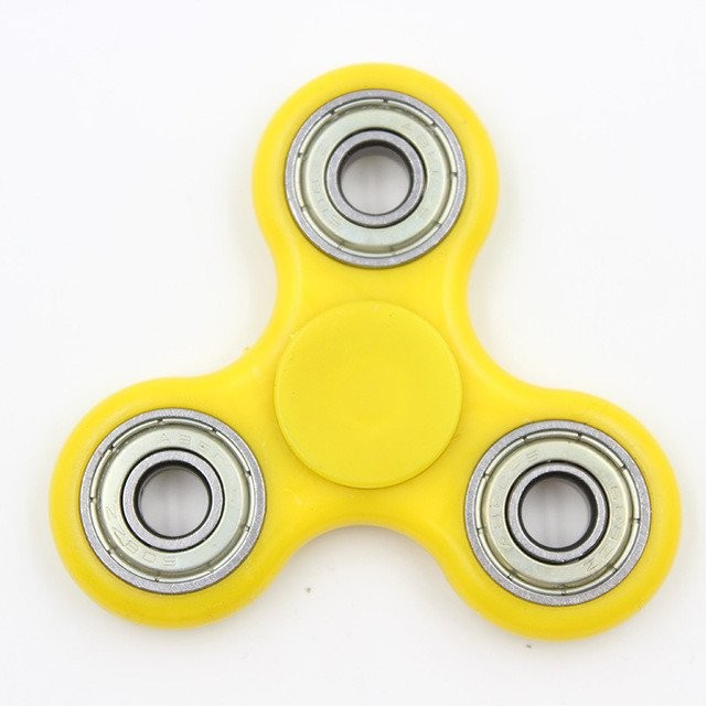 Fidget Spinner Klasický Fidget Spinner žlutý