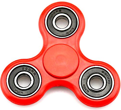 Fidget Spinner Klasický Fidget Spinner červený