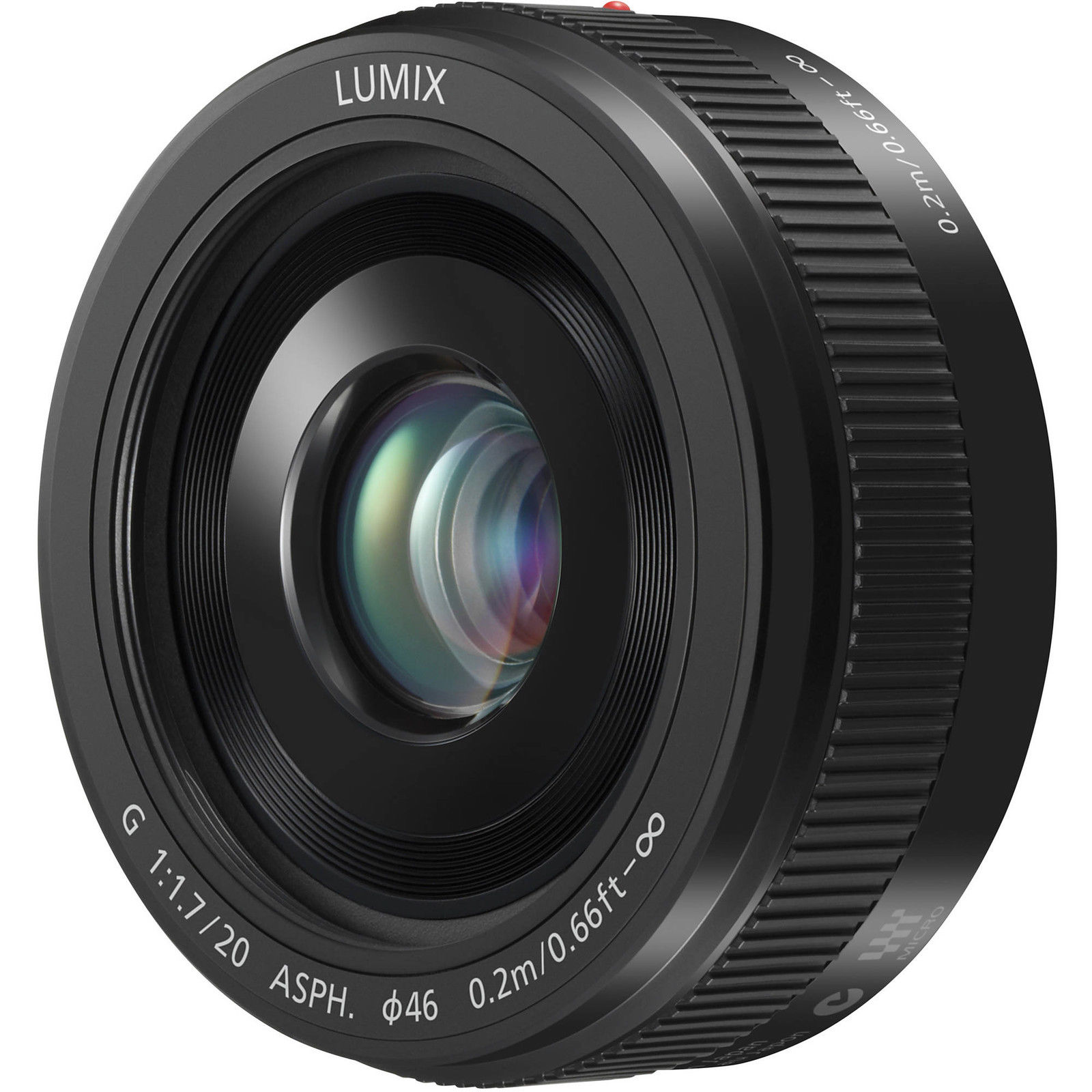 Panasonic Lumix G 20mm f/1,7 II aspherical IF