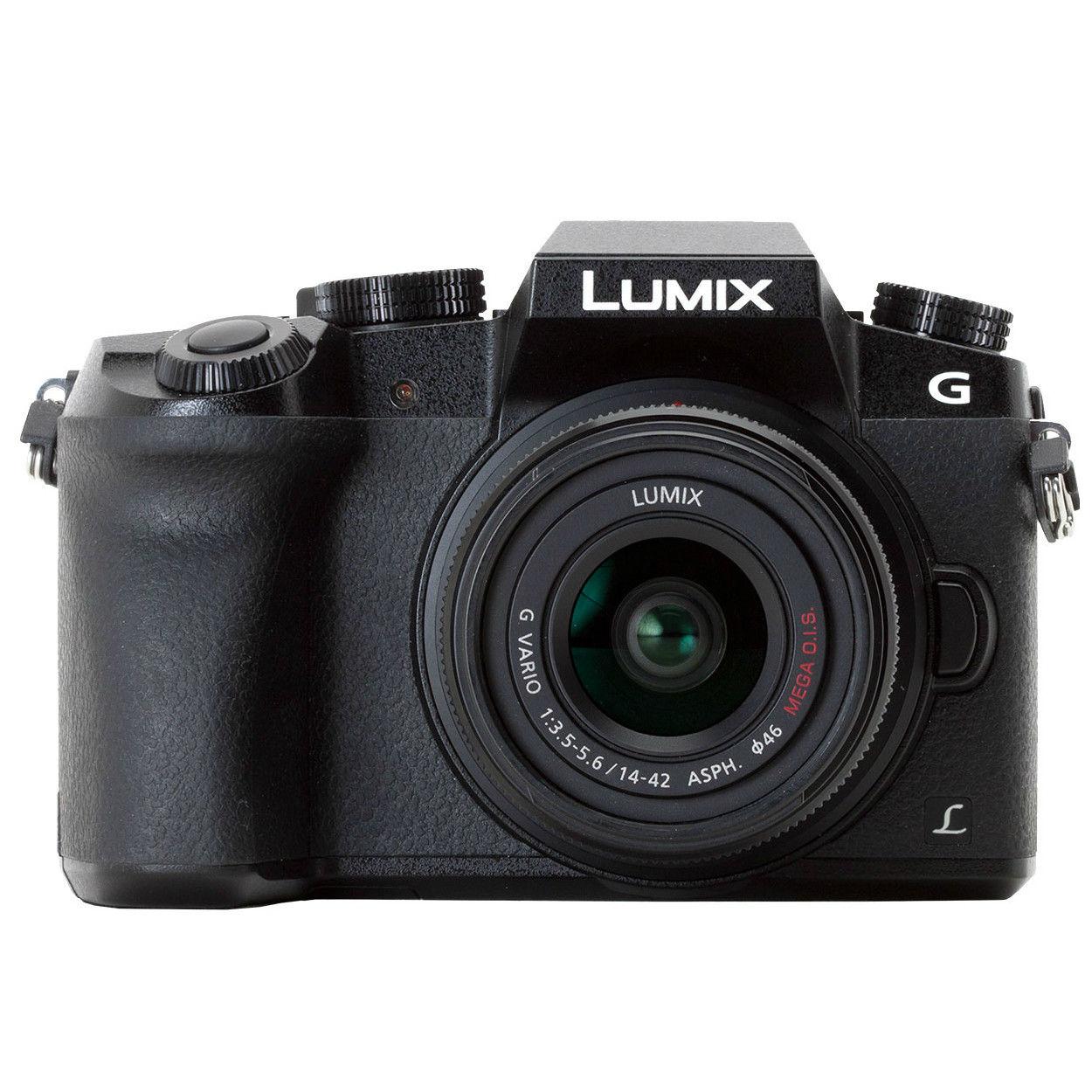 Panasonic Lumix DMC-G7 + G Vario 14-42mm (černý)