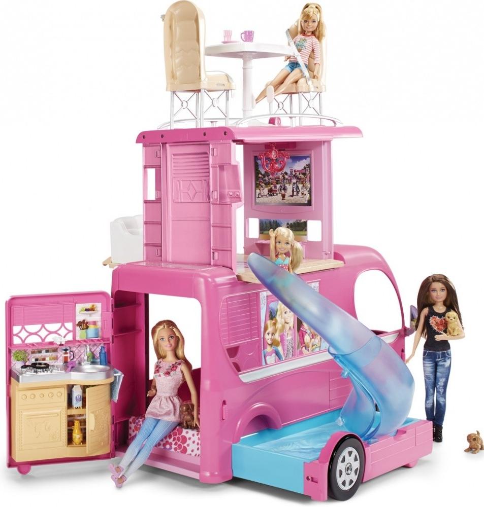 Mattel Barbie velký karavan