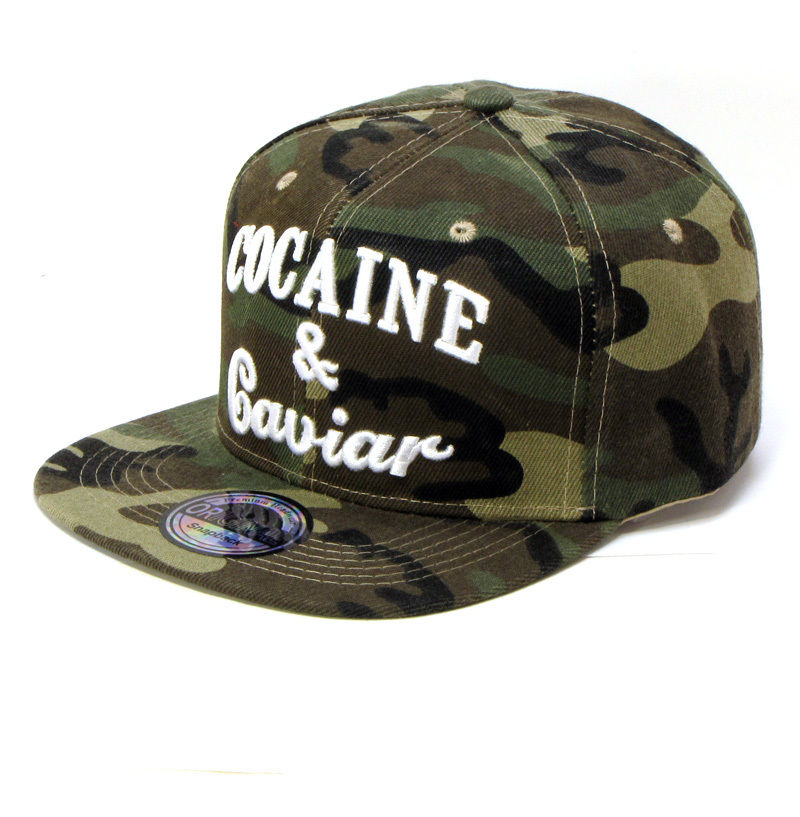 Cocaine & Caviar kšiltovka maskačová
