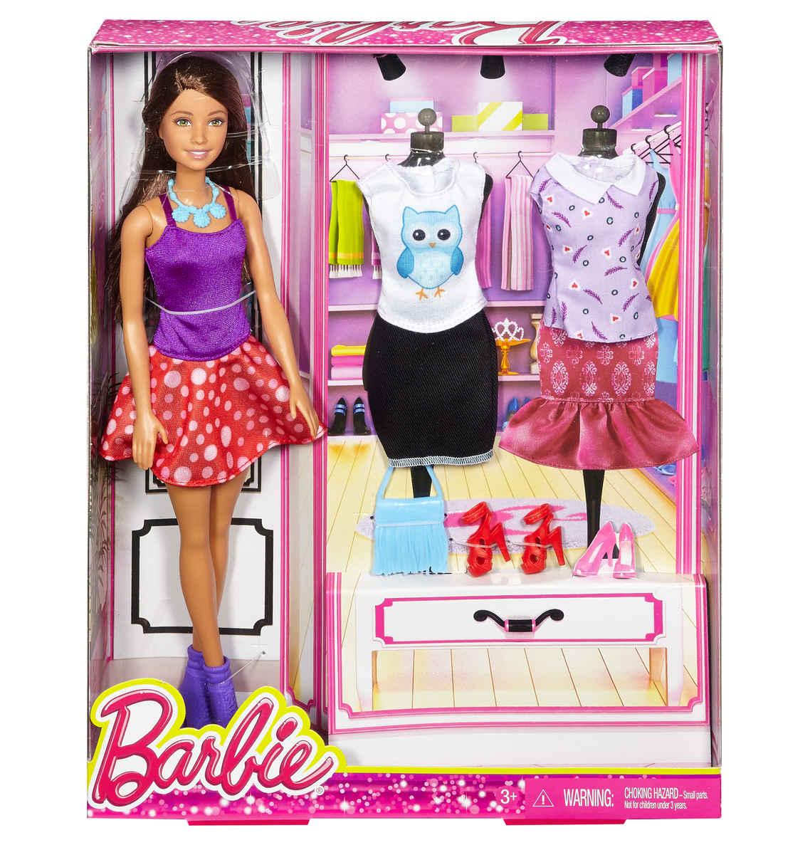 Mattel Barbie modní navrhářka bruneta