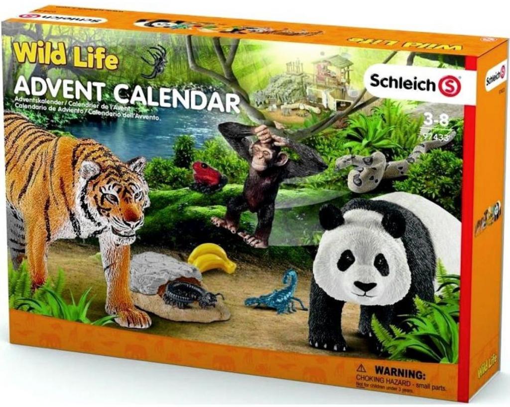 Schleich 97433 Adventní kalendář Wild Life