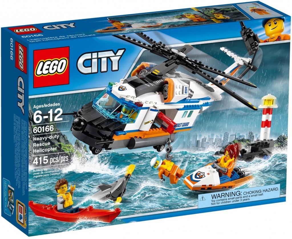 Lego City 60166 Výkonná záchranářská helikoptéra