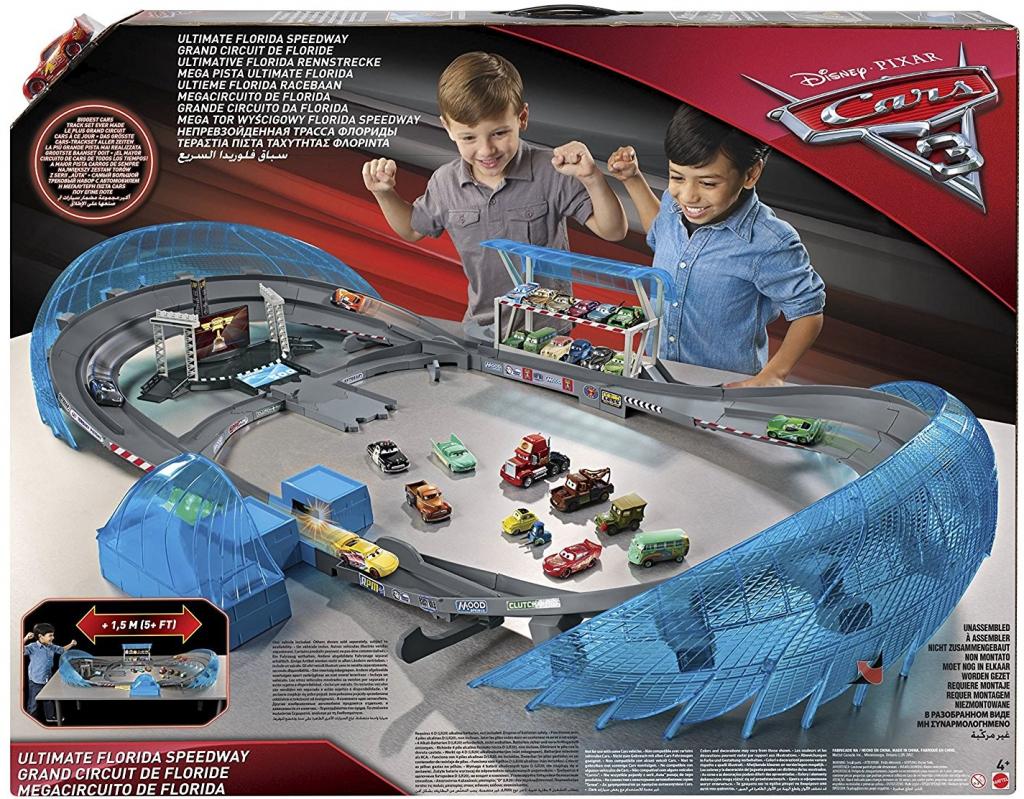Mattel Cars 3 Ultimate Florida závodní autodráha 61 x 78 x 11cm