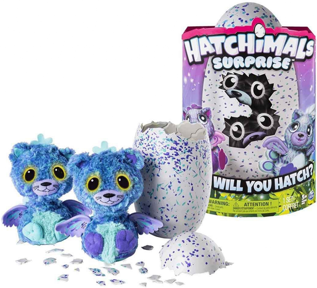 Spin Master Hatchimals Surprise Dvojčata kočičky