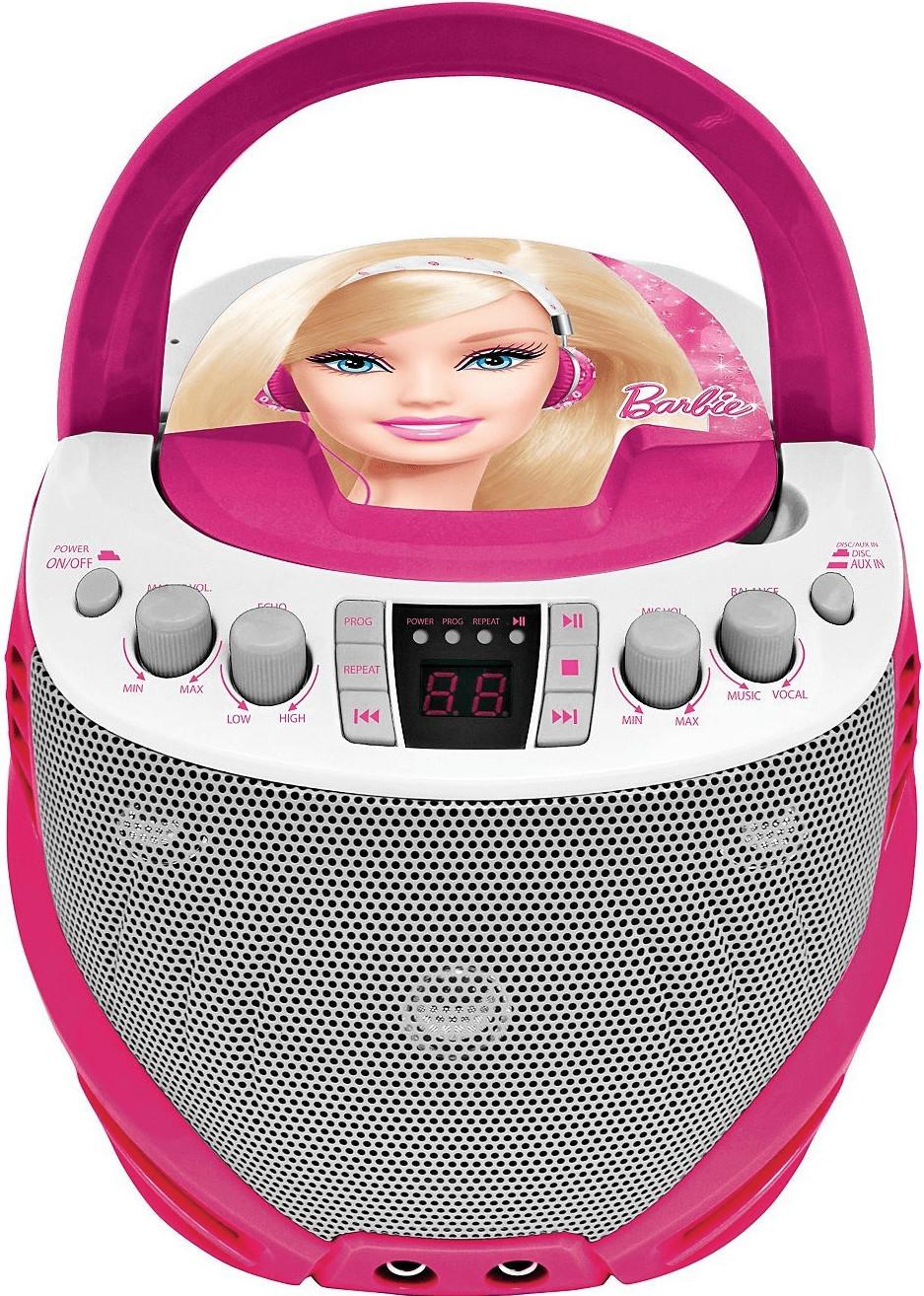Lexibook Barbie CD prekravač+karaoke MP3/MP4