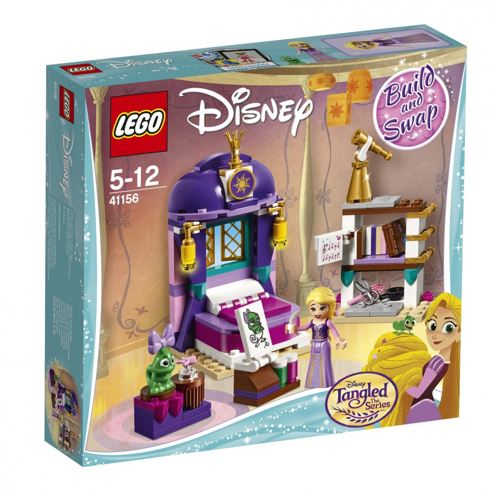 LEGO Disney Princess 41156 Rapunzels Castle Bedroom Set
