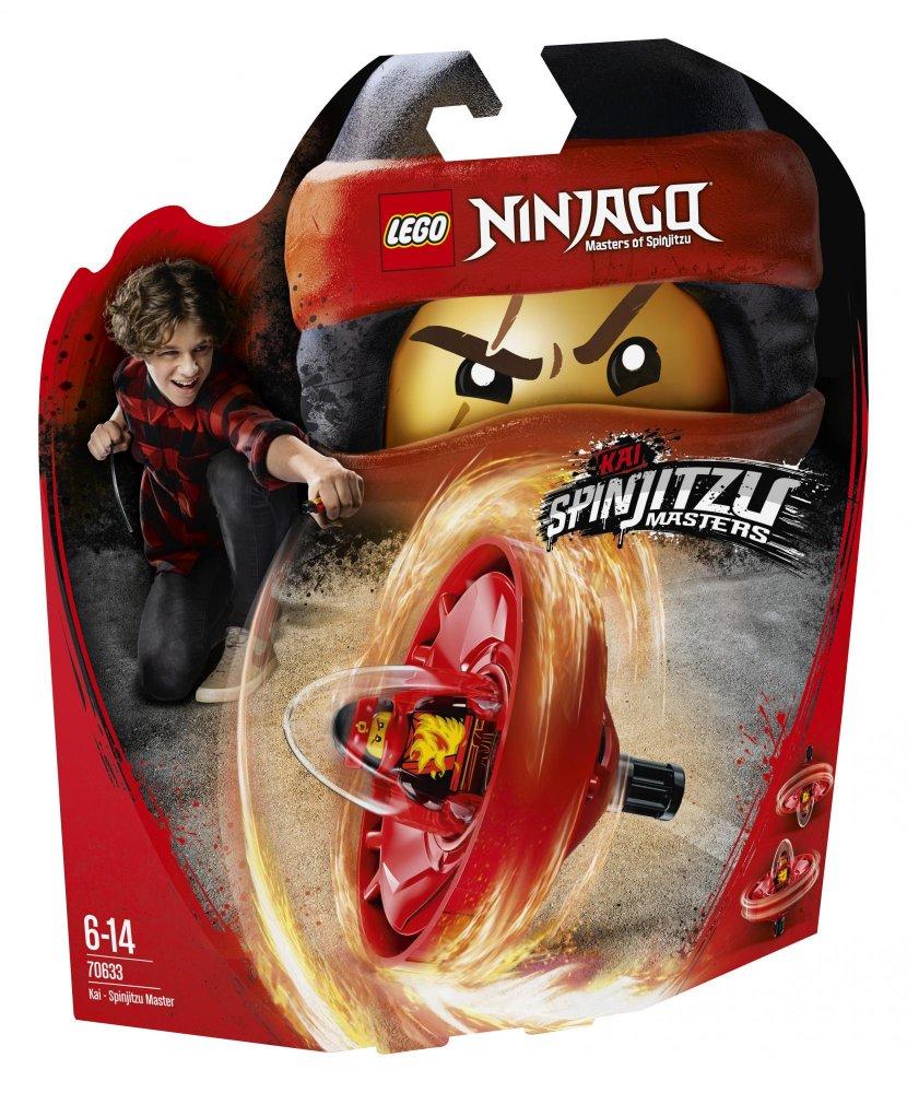 Lego Ninjago 70633 Kai Mistr Spinjitzu