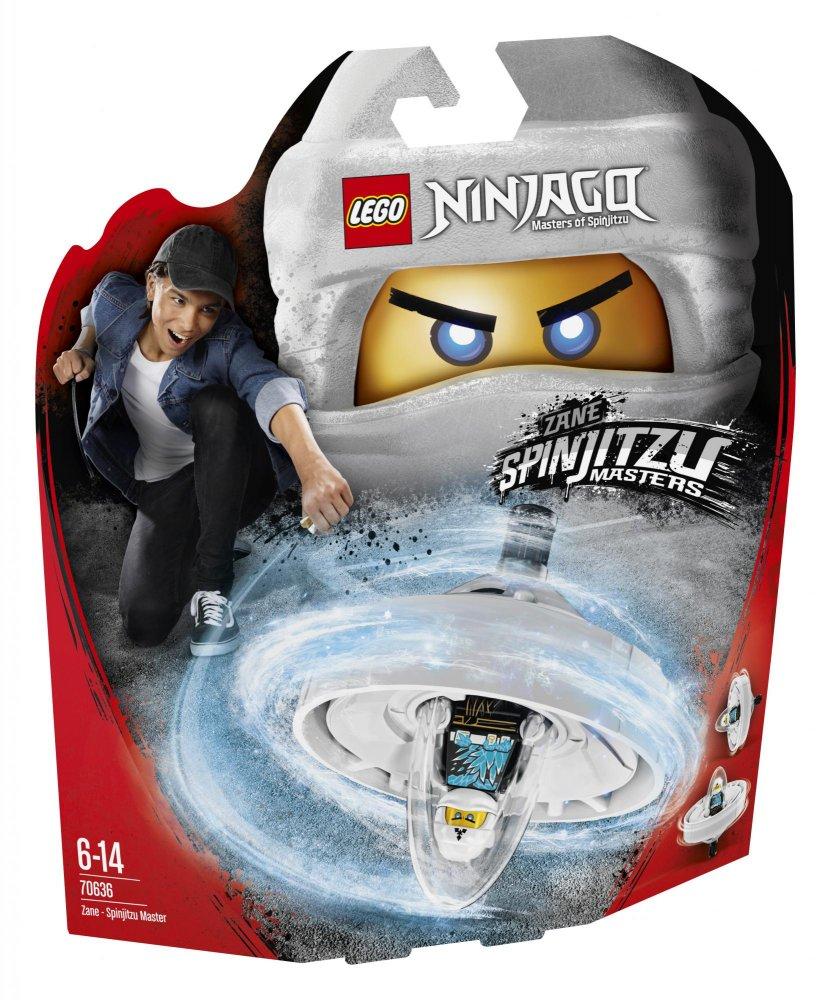 Lego Ninjago 70636 Zane Mistr Spinjitzu