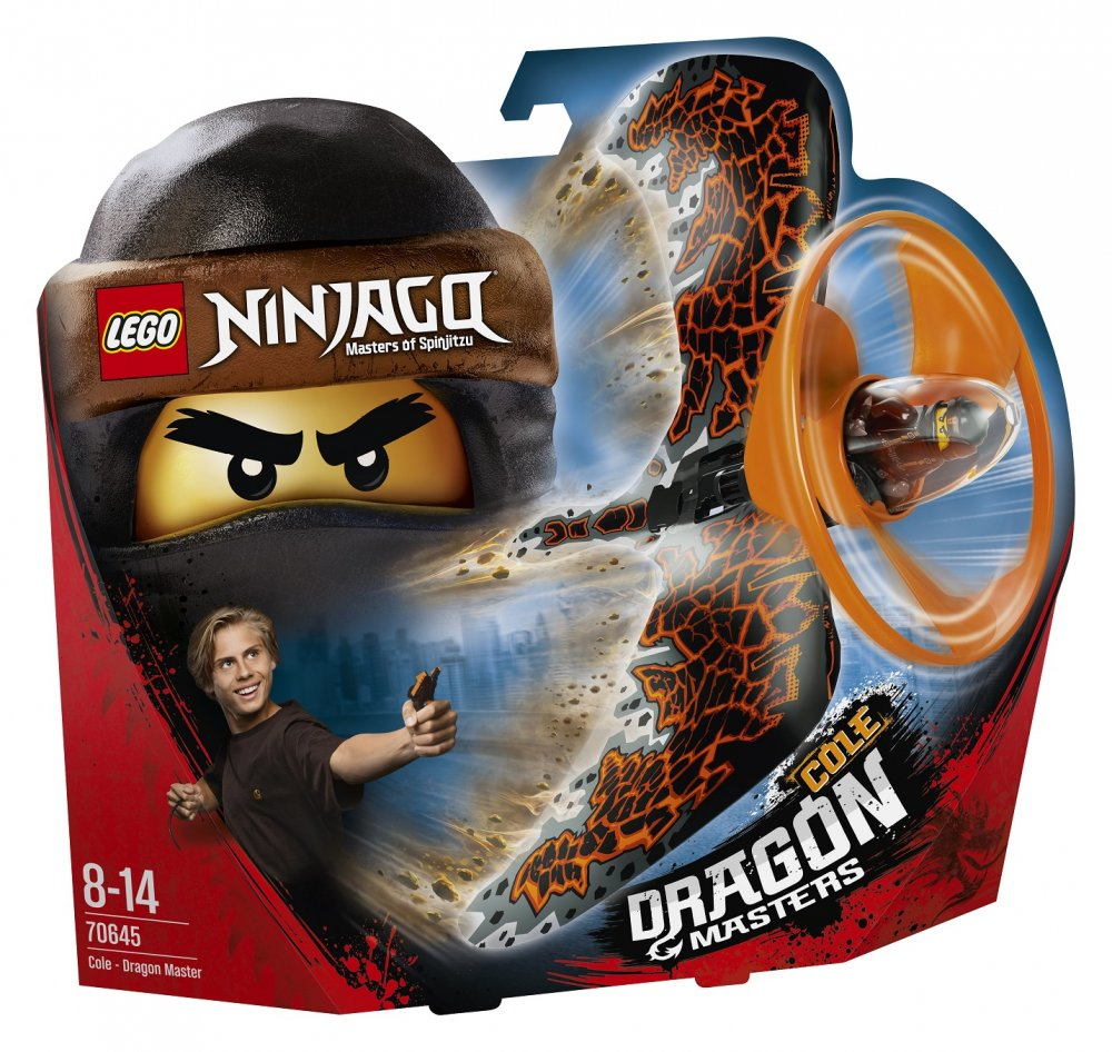 LEGO Ninjago 70645 Cole pán draků