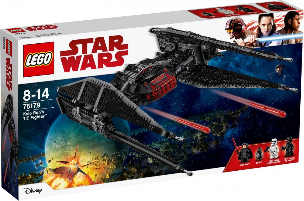 Lego Star Wars 75179 Kylo Renova stíhačka TIE