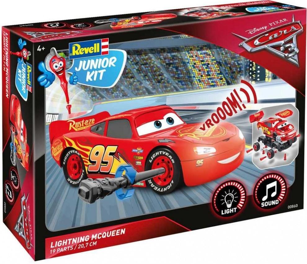 Lightning McQueen světelné a zvukové efekty Junior Kit 1:20