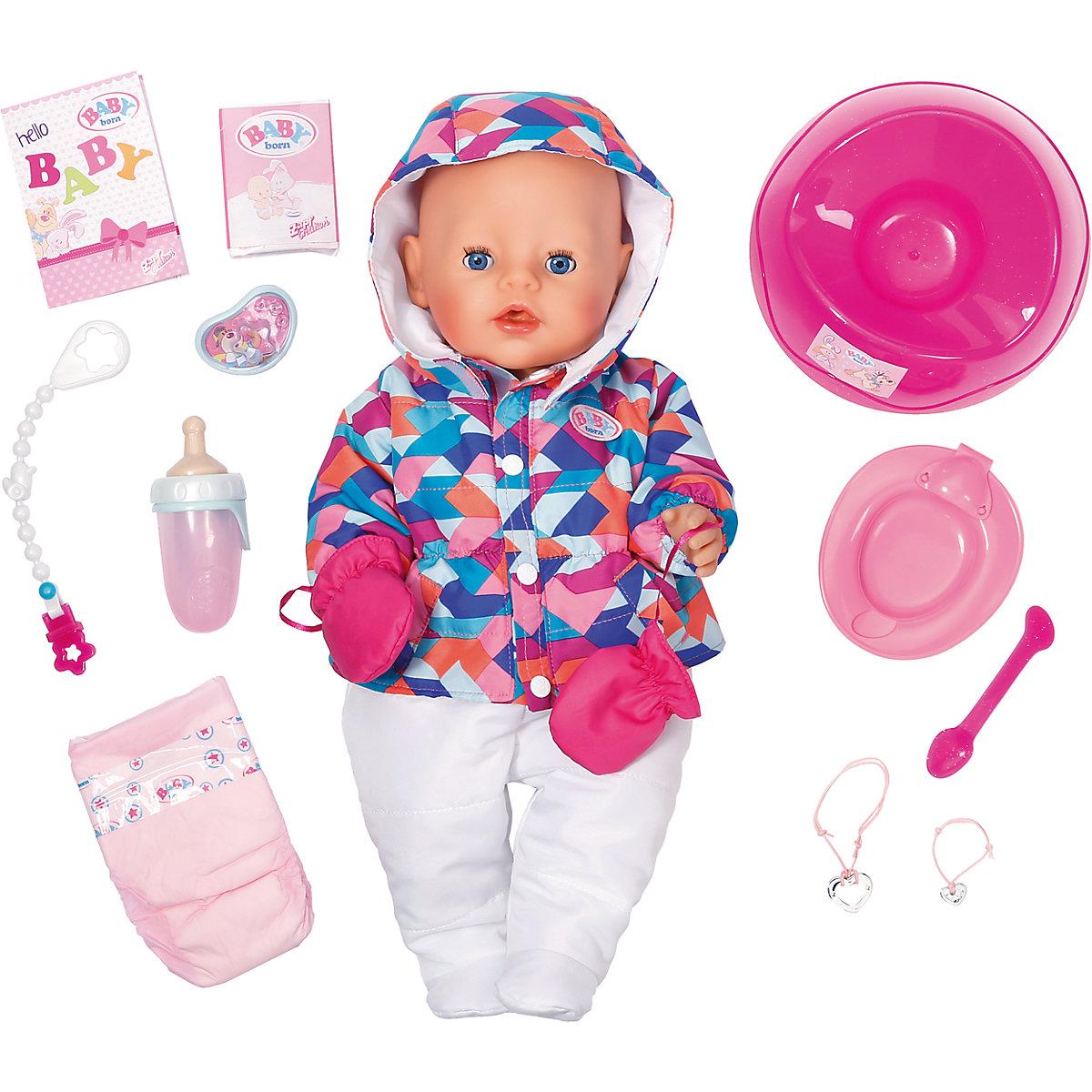Zapf Creation EXKLUSIV BABY born Zimní set