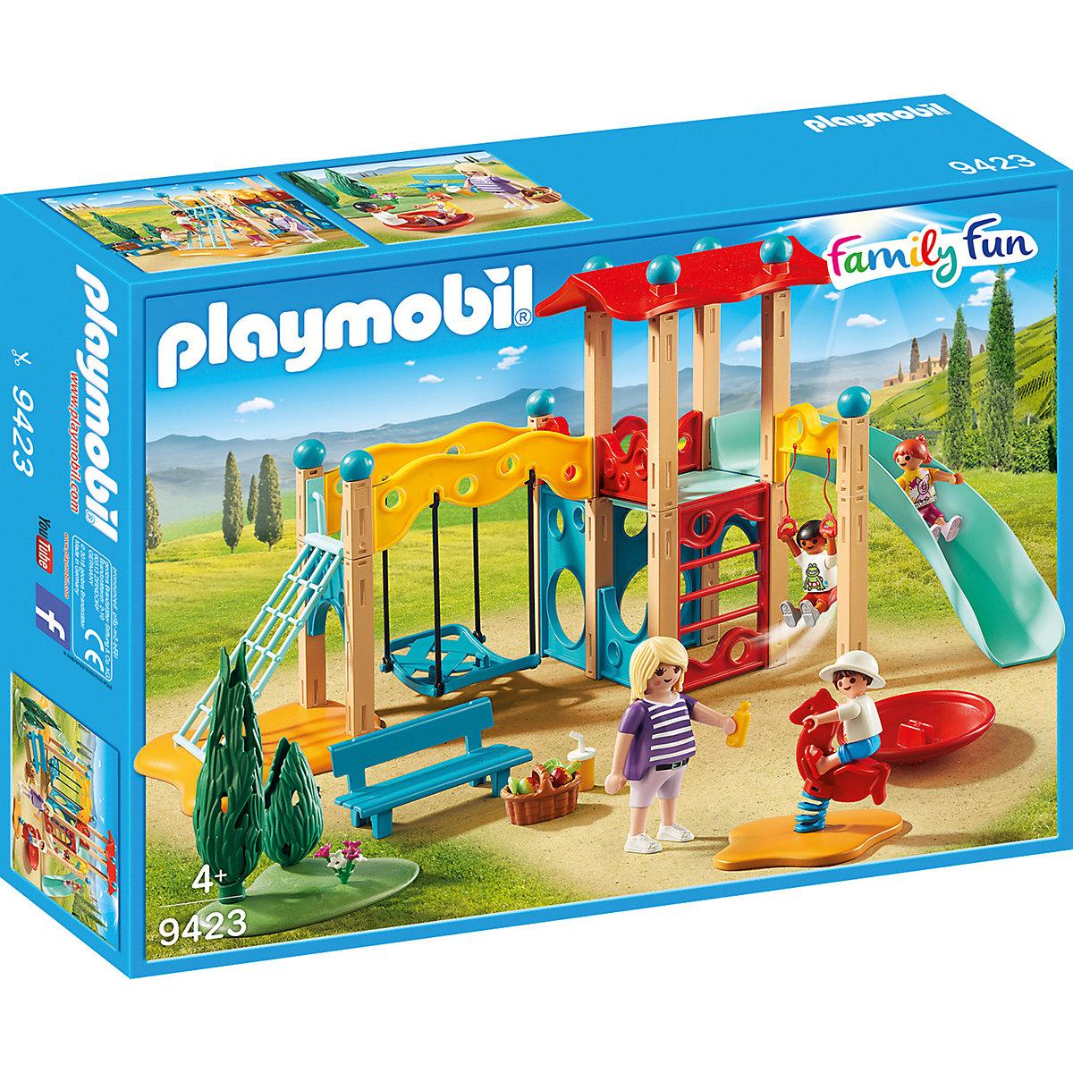 8cbd2d788 Playmobil 9423 velké dětské hřiště empty