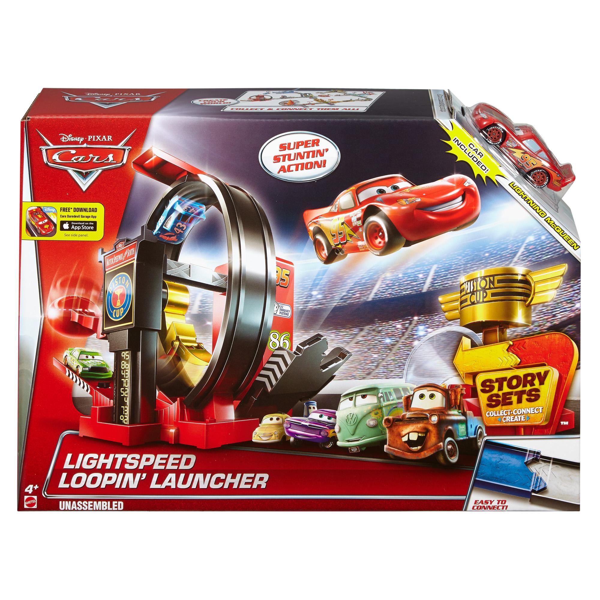 Mattel Cars Hrací sada se super smyčkou DJC57