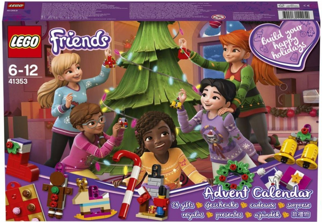 Lego Friends Adventní kalendář Lego41353
