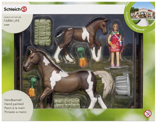 SCHLEICH Krmení pro koně 21049
