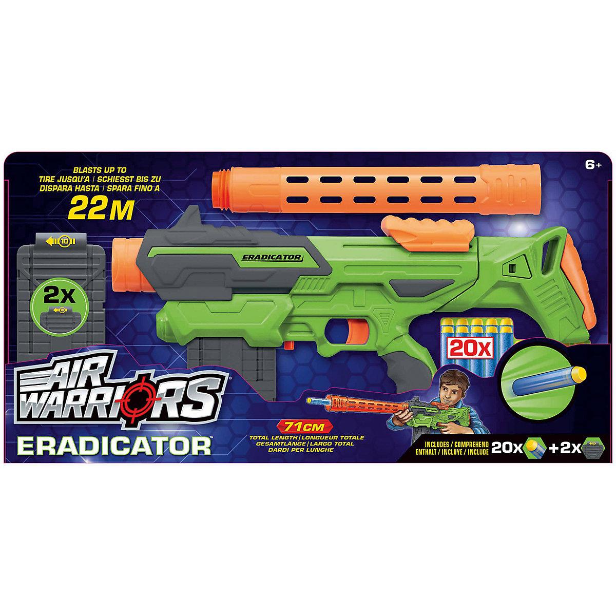 """Air Warriors Dartblaster """"Eradicator""""dětská zbran typu NERF"""