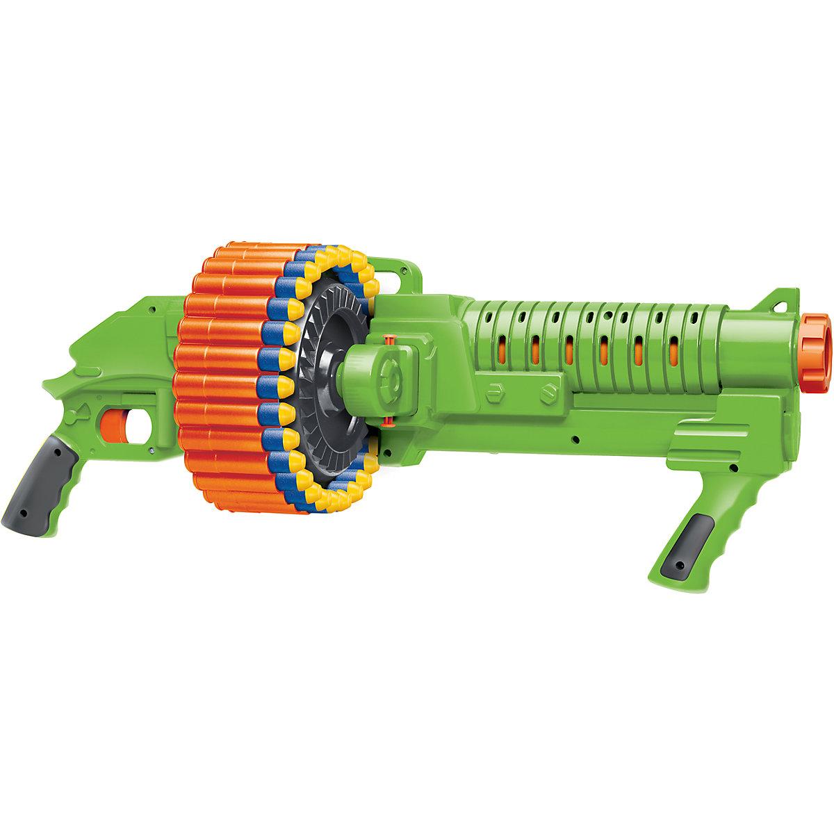 Air Warriors rotační kulomet dětská zbran typu NERF