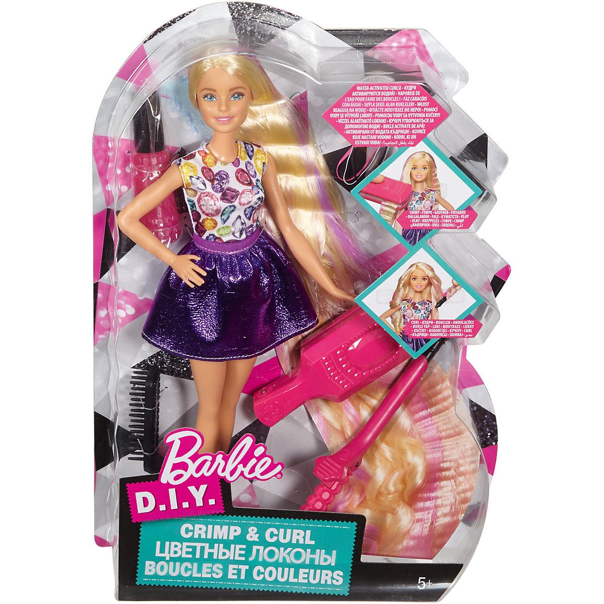 Mattel Barbie Vlny a lokny DWK49