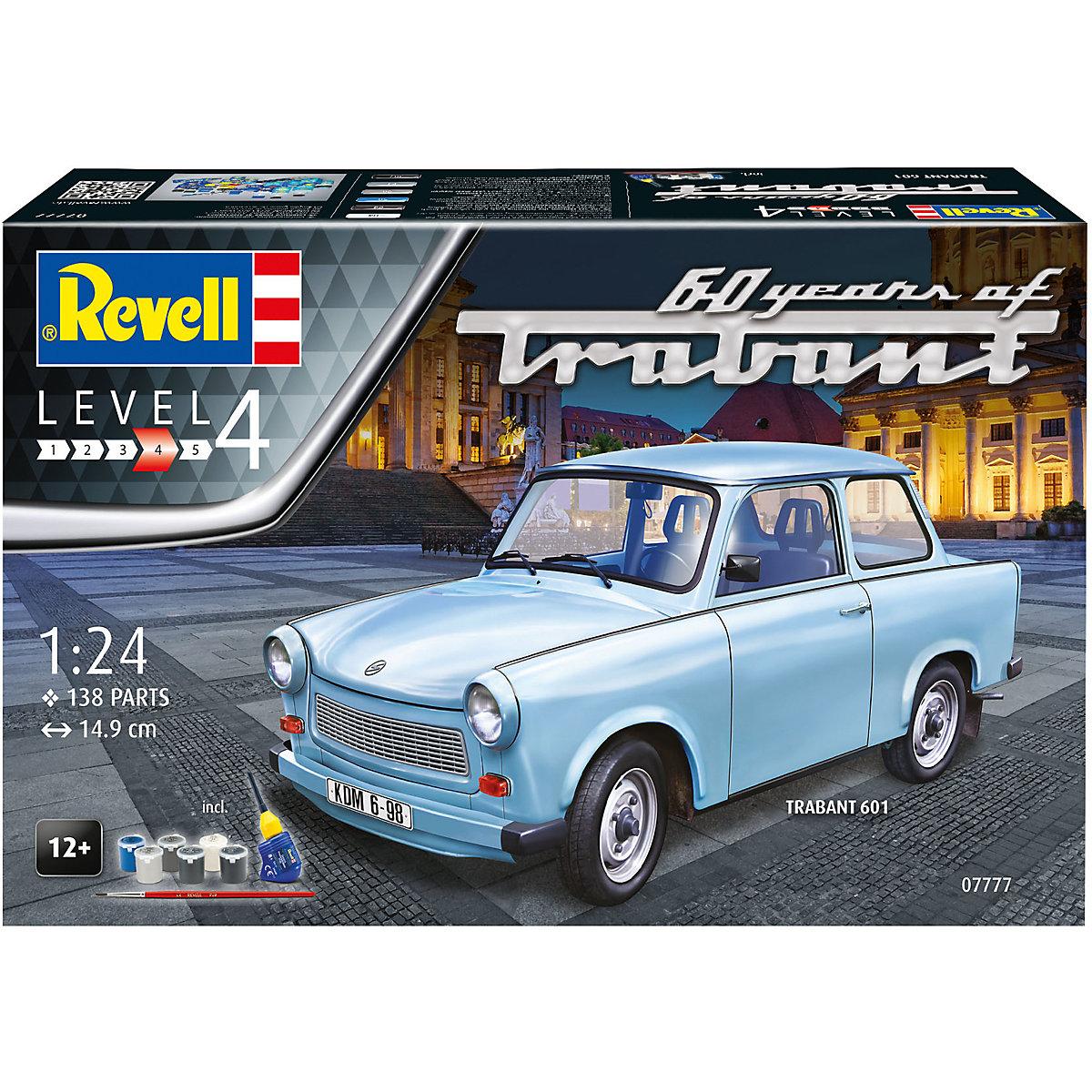 Corfix Gift Set auto 07777 Trabant 601S 60 Years of Trabant 1:24