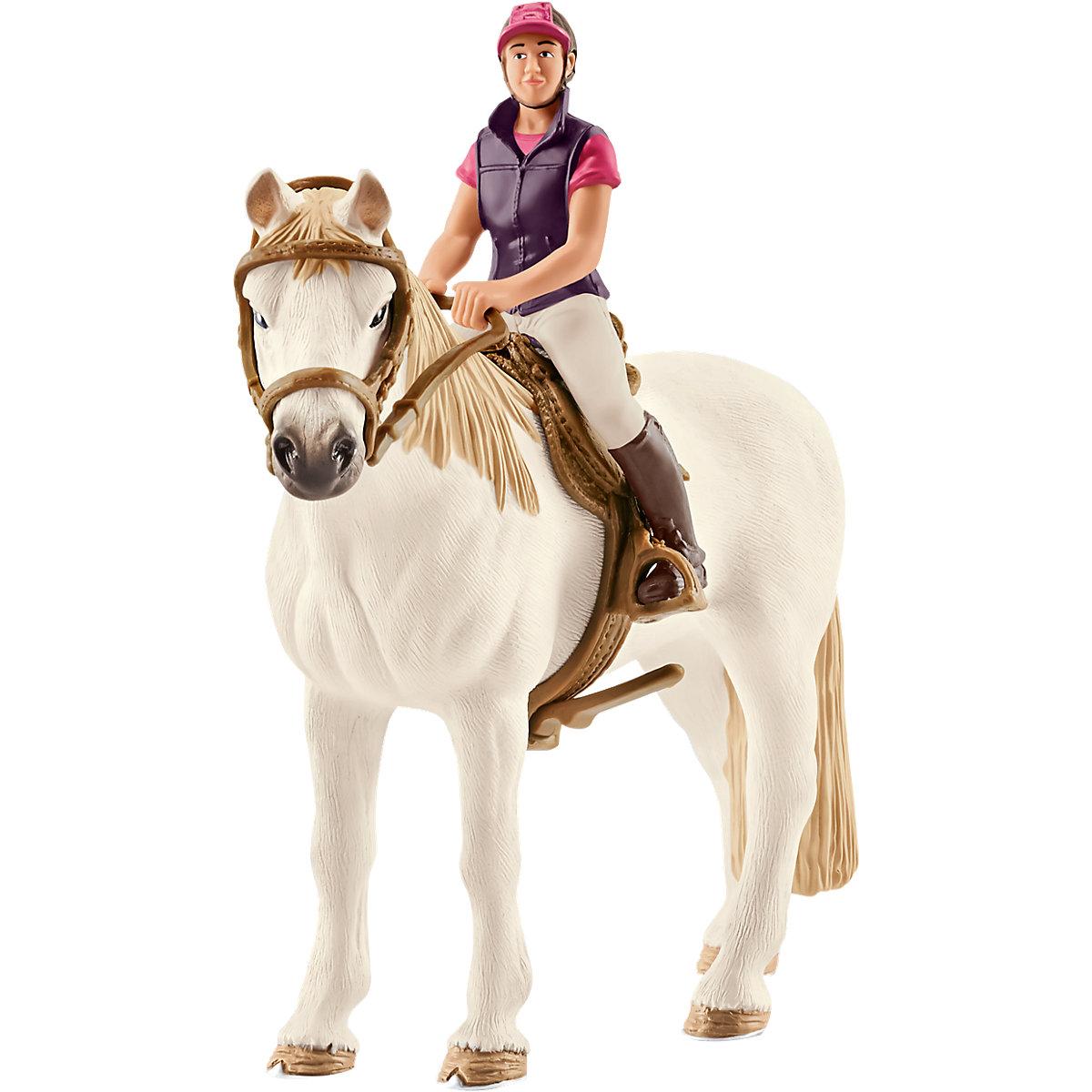 Schleich Rekreační jezdkyně na koni 42359
