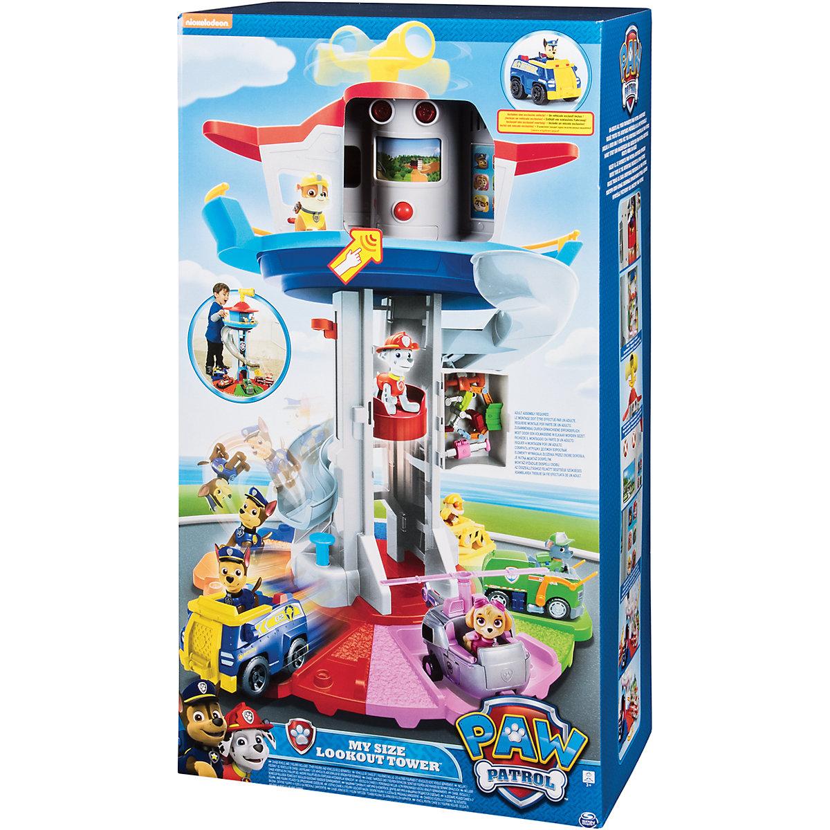 Spin Master Patrol hlídkovací věž XXL 80cm