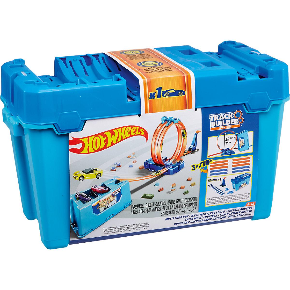 Mattel Hot wheels velký Multi Looping Box