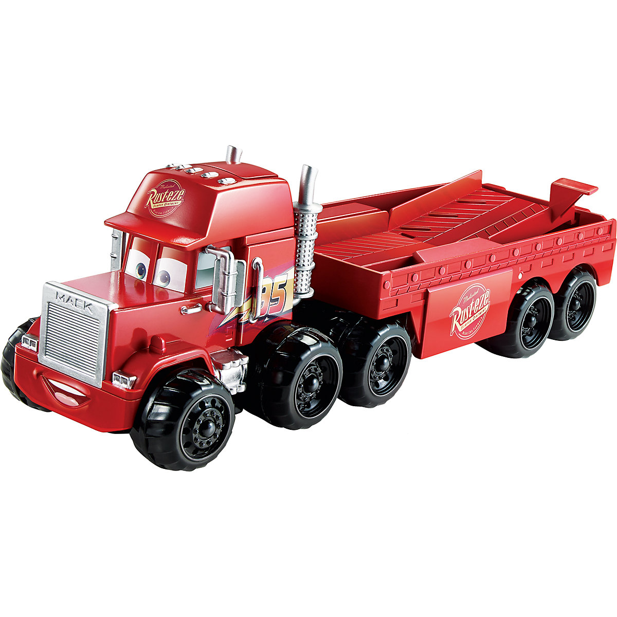 Mattel Cars Splash Racers Mack Transporter kamion
