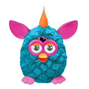 Hasbro Furby Cool - tyrkysový s růžovými oušky