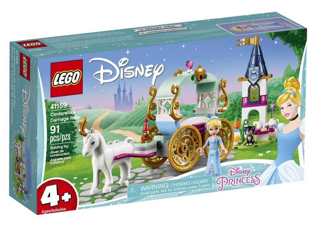 LEGO Disney 41159 Projížďka Popelčiným kočárem
